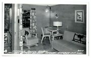 Rppc Dunn Roven Millers Resort Of The Woods, Boulder Junction, Wi Postcard