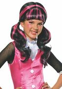 Monster High Childand039s Draculaura Costume Wig From Japan