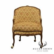 Lillian August French Louis Xv Style Bergere Chair