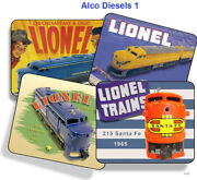 Lionel Alco Diesel 205, 208, 209, 211, 212, 215f, 216 Mouse Pads
