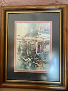 Jack C Deloney Signed And Numbered Framed Print Still Life Watercolor