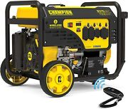 Champion 9,375-w Quiet Portable Rv Ready Gas Powered Generator With Remote Start