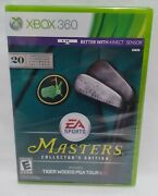 Xbox 360 Masters Collectors Edition Tiger Woods Pga Tour 13 New Sealed