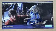 Kenny Baker Star Wars Signed Topps Trading Card Widevision Esb Rare K9 Holo