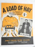 A Load Of Hay - The Five Smith Brothers Single Sheet Music Piano Vocal 1950