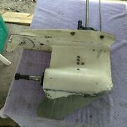 Johnson Evinrude Outboard 70hp Lower Unit 20in 3cyl 4 Spline Shaft 1979