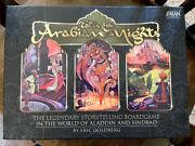 Tales Of The Arabian Nights Board Game Z-man Games Rare Oop Played Twice