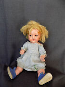 Antique Toy Kammer And Reinhardt Kandr Celluloid Girl Doll 728/7 Germany 43/46