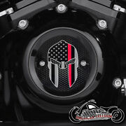Harley Davidson Milwaukee 8 Eight Timing Points Cover M8 Thin Red Line Spartan