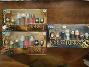 Pez - 3 Limited Edition Hobbit And Lord Of The Rings Box Sets - All New - Original
