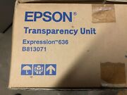 Epson Transparency Unit Expression 636 New In Box P/n B813071 For Scanners
