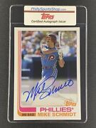 Mike Schmidt 2020 Topps Archives Auto Card Phillies 1982 Style 10/50
