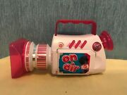 2010 Barbie On Air Toy Video Camera Camcorder Talking Sounds Lights Working