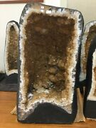 26 X 14 193 Lb Rare Citrine Cathedral Geode Cluster 7