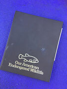 Set Of 4 Our American Endangered Wildlife Brass Medals, Rare Reduced
