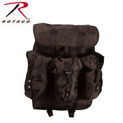 Rothco G.i. Type Large Alice Pack With Frame Black 2240