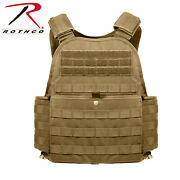 Rothco Molle Plate Carrier - Coyote Brown 8923