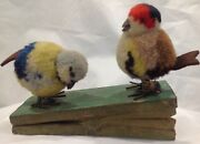 Antique German Steiff Mechanical Toy With Birds