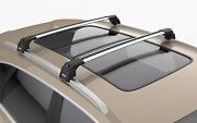 Turtle Air2 Roof Rack Cross Bar Silver Color For Mitsubishi Pajero Sport Mk3