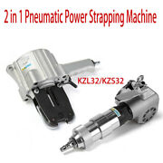 Kzs 32 Pneumatic Steel Strapping Tools+ Kzl Tensioner For Strapping Steel W32mm