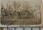 Very Rare Herbert Herb Synott 1917 In East Africa Signed Postcard With Coa