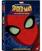 Spectacular Spiderman The Complete Tv Series Dvd Box Set Collection Animated Man