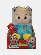 2 Cocomelon Musical Bedtime Jj Doll With Plush Tummy And Roto Head Brand New