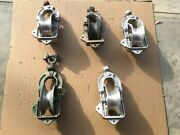 Lot Number 2 Of 5 Sherman Reilly And/or Others 2500lb 7 Inch Stringing Blocks
