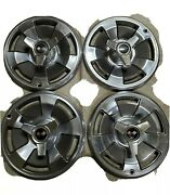 1966 Corvette 15 Original Hubcaps And Spinners Lighly Used