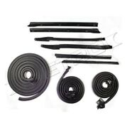 Metro Moulded Rkb 2007-109/a Supersoft Body Seal Kit For 66 Pontiac Catalina New