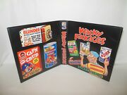 Custom Made Wacky Packages Trading Card Album Binder Graphics Only