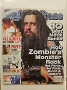 1999 February 4 Rolling Stone Magazine Rob Zombie's Monster Rock D72