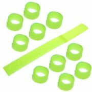 50 Pcs Useful Cable Tie Straps Keeper Wrapper Wire Winder For Work