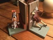 Extremely Rare Droopy With Tex Avery Demons Merveilles Fig Bookends Statue Set