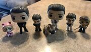 Lot Of 8 Funko Pop And Mystery Pop Harley Quinn Roman Sionis Chase Birds Of Prey