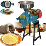 3000w Mill Grinder Electric Grain Feed Flour Milling Cereals Machine With Funnel