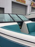 1989 Glastron 19andrsquo Future Complete Walk-through Windshield Assembly