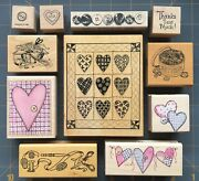 Quilt And Sewing Theme Blocks Tags Rubber Stamps Quilting Sew Psx Etc You Pick