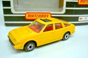 Matchbox Superfast No. 8d Rover 3500 In Yellow Extremly Rare Mint