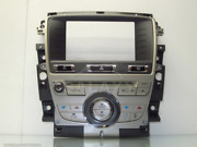 08-11 Xk R Dash Panel Climate And Display Cd Player Cover 9w83-18c858-ba C2p1771