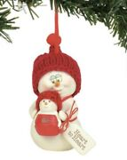 Dept 56 Snowpinions Christmas Ornament Heart To Heart 3andrdquo T New