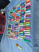Vintage Pez Dispensers Lot Of 104 1990and039s And Up