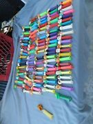 Vintage Pez Dispensers Lot Of 104 1990's And Up