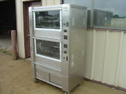 Hickory 10.10e Electric Rotisserie Oven Nice Clean Many New Parts And Elements
