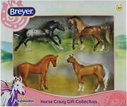 Breyer Horses Stablemates Horse Crazy Gift Collection | 4 Horse Set