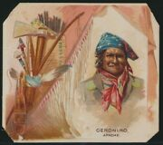 1888 N36 Allen And Ginter American Indian - With Geronimo - Lot Of 26 Different