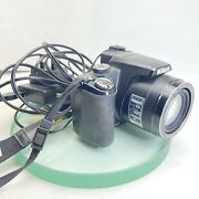 Nikon Coolpix P90 12.1mp Digital Camera - Black. Battery And Charger Tested 928