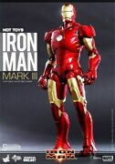 Hot Toys Mms256-d07 Iron Man Mark Iii 1/6th Action Figure Sideshow