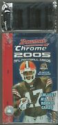 Factory Sealed 2005 Bowman Chrome Football Hobby Box Plus 1 Sealed Rc Refractor