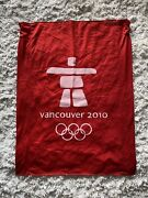 2010 Vancouver Olympic 40 X 30 Inches Ski Downhill Gate Flag